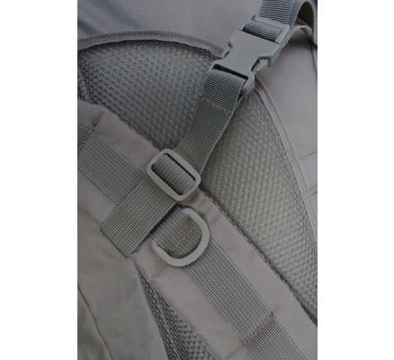 Большой туристический рюкзак бежевый