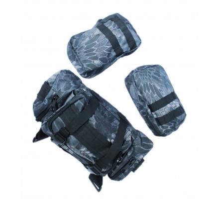 Синий камуфляжный рюкзак