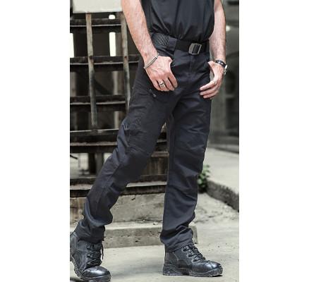 Черные штаны с карманами Pave Hawk