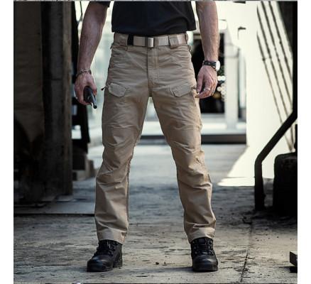 Хаки штаны с карманами Pave Hawk