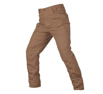 Коричневые штаны с карманами Pave Hawk