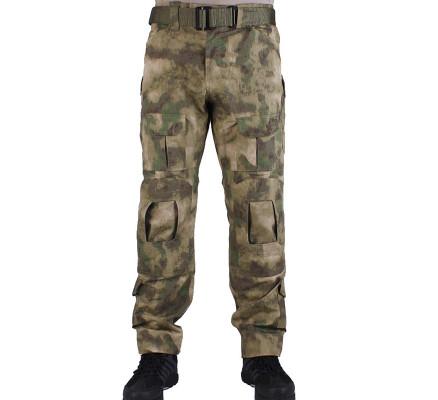 Лесной камуфляж штаны с наколенниками Pave Hawk