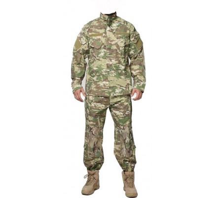 Куртка и штаны лесной камуфляж