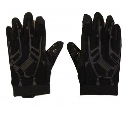 Черные спортивные перчатки