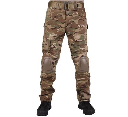 Камуфляжные штаны с наколенниками Pave Hawk