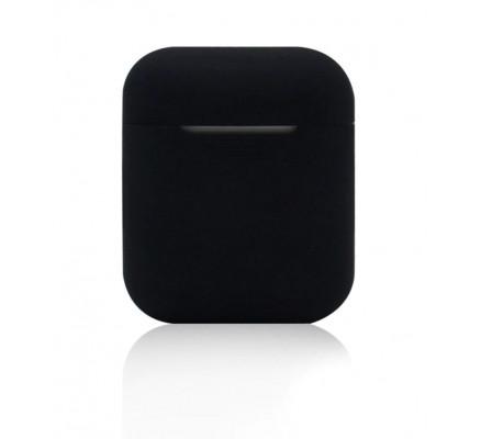 Черный силиконовый чехол для Apple AirPods