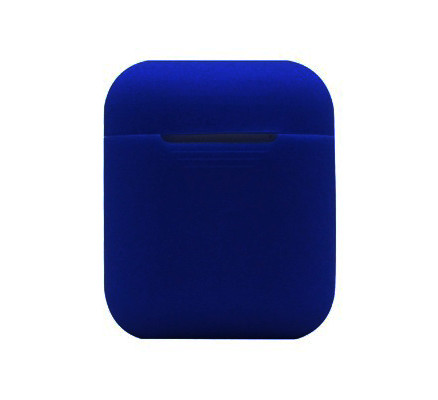 Синий силиконовый чехол для Apple AirPods