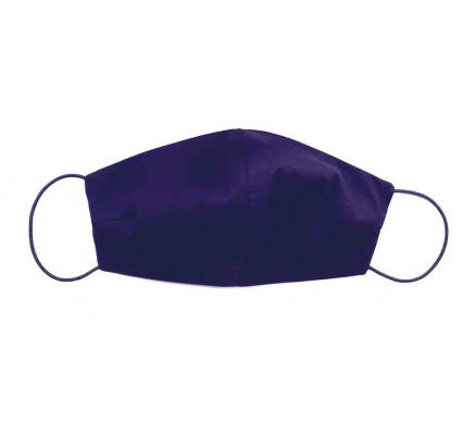 Темно-синяя хлопковая защитная маска