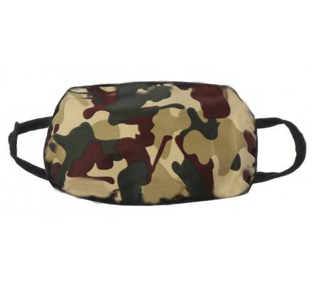 Защитная маска с камуфляжным принтом
