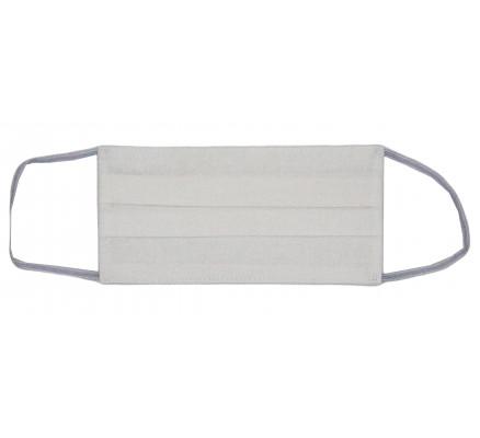 Белая защитная хлопковая маска