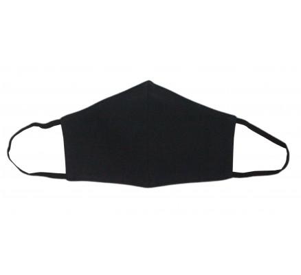 Черная защитная многоразовая маска
