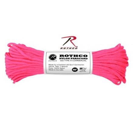 Ярко-розовый трос 197