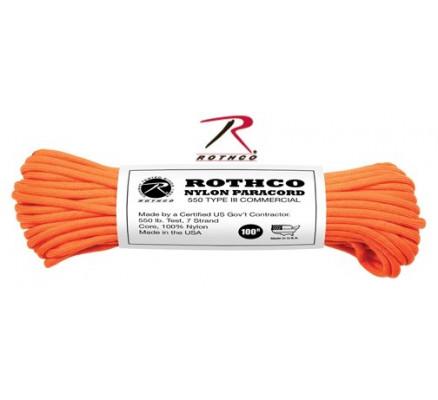 Ярко-оранжевый трос 194