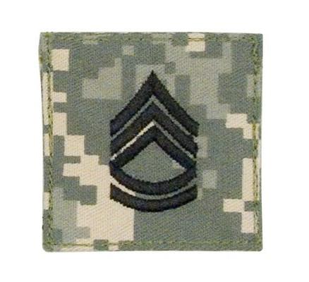 Нашивка сержанта 1-го класса