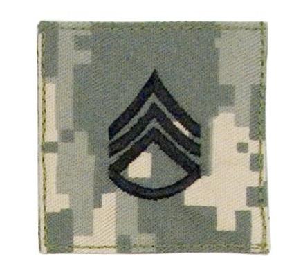 Нашивка штаб-сержанта 1764