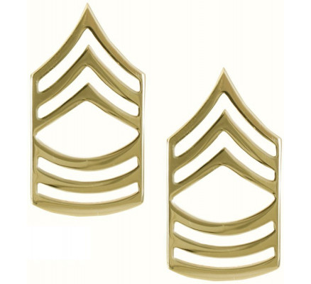Золотые петлицы главного сержанта
