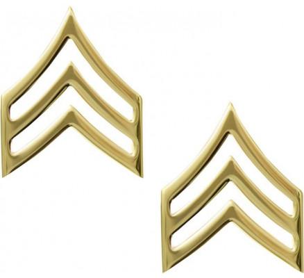 Золотые петлицы сержанта