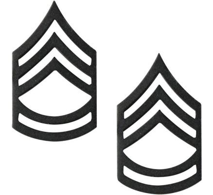 Петлицы сержанта 1-го класса 1605