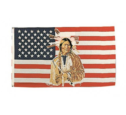 Флаг американский индеец 1448