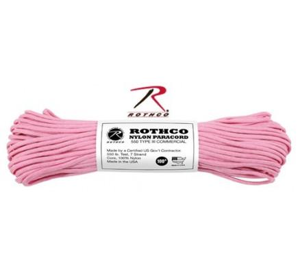 Розовый нейлоновый трос 125