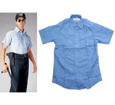 Голубая рубашка 30025
