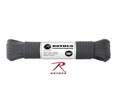 Темно-серый трос 30809