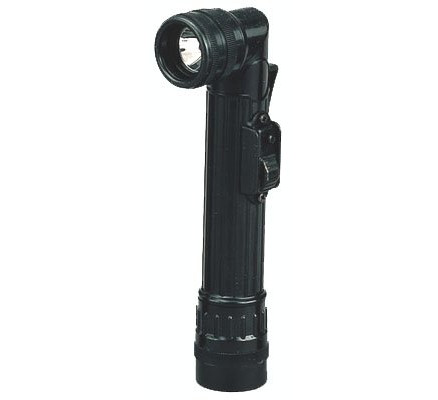 Мини-фонарик черный 325