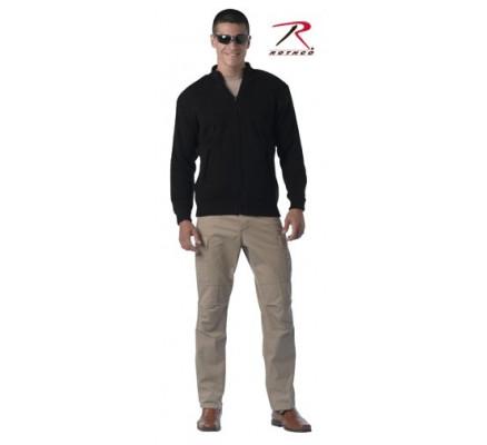 Двухсторонний черный свитер 3340