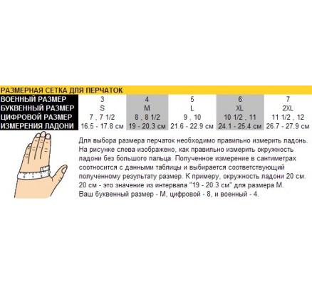 Тактические перчатки 3455