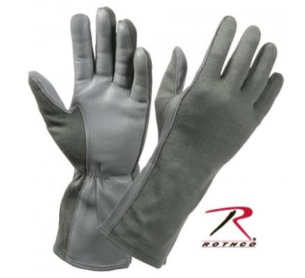 Термостойкие перчатки Зеленая листва 3473