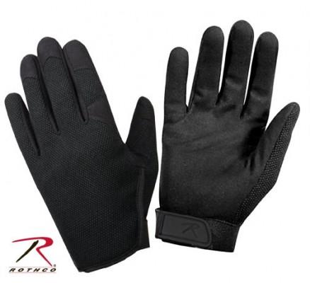 Легкие черные перчатки 3481
