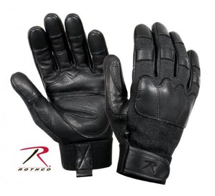 Тактические черные перчатки 3483