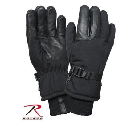 Военные перчатки черные 3559