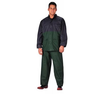 Непромокаемый сине-зеленый костюм 3660