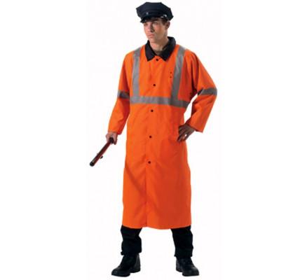 Реверсивный оранжевый плащ 3889