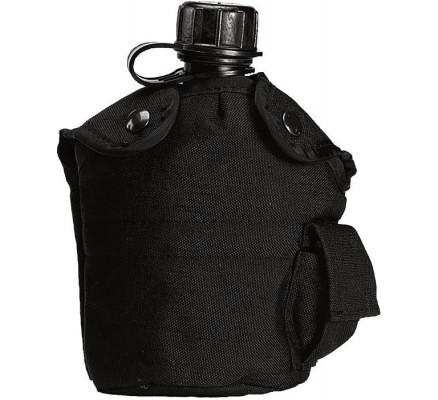 Чехол для фляги черный 40010