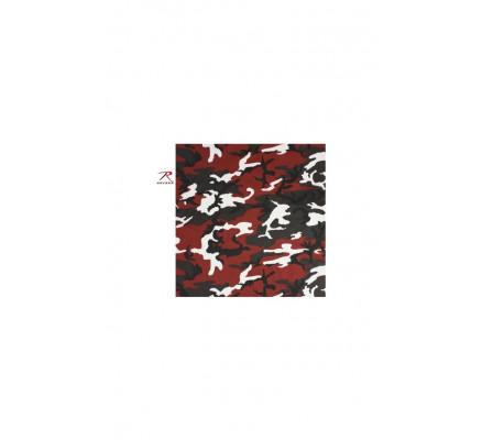 Бандана Красный камуфляж 4134