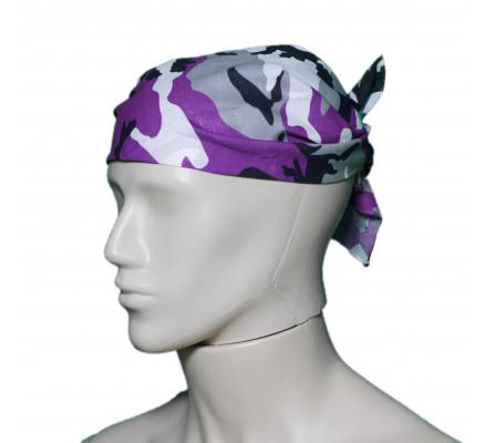 Бандана Фиолетовый камуфляж 4156