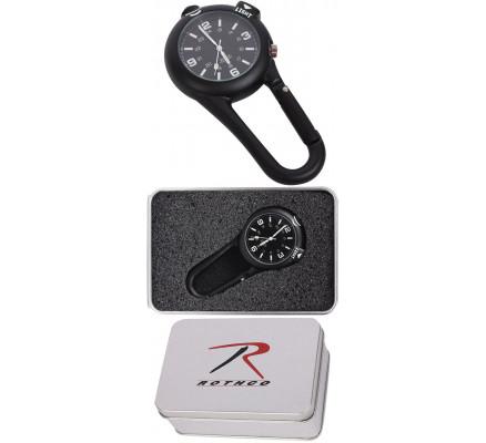 Черные часы-карабин 4500