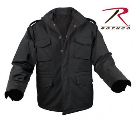 Легкая тактическая куртка черная 5247
