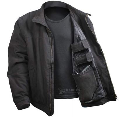 Курточка 3 сезона черная 5385