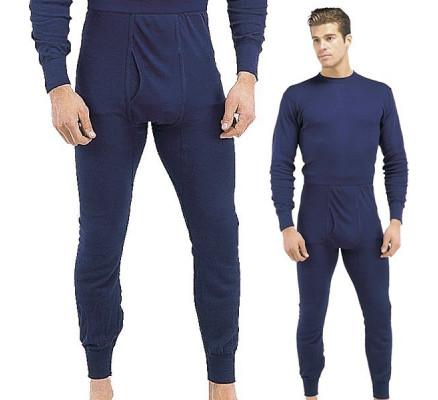 Темно-синие нижние штаны 6244