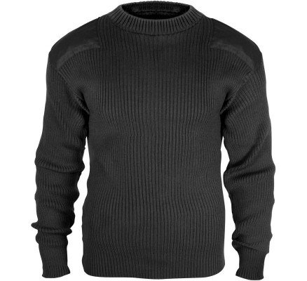 Черный акриловый свитер COMMANDO 6347
