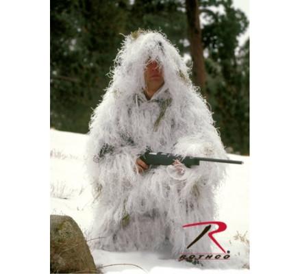 Легкий маскировочный костюм Снежный 65132