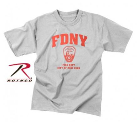 Серая футболка FDNY 6683