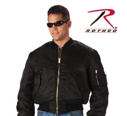Летная курточка черная 7324