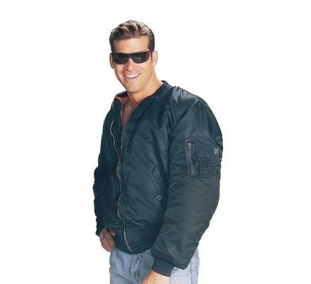 Летная синяя курточка 7325