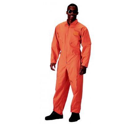 Оранжевый летный комбинезон 7415