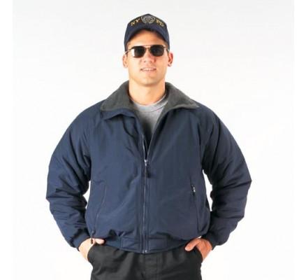Демисезонная синяя куртка 7680