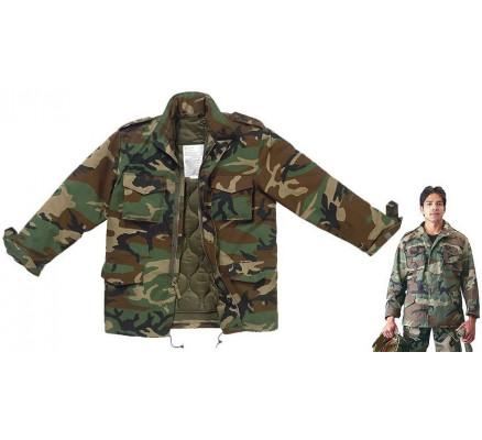 Камуфляжная курточка M-65 7991